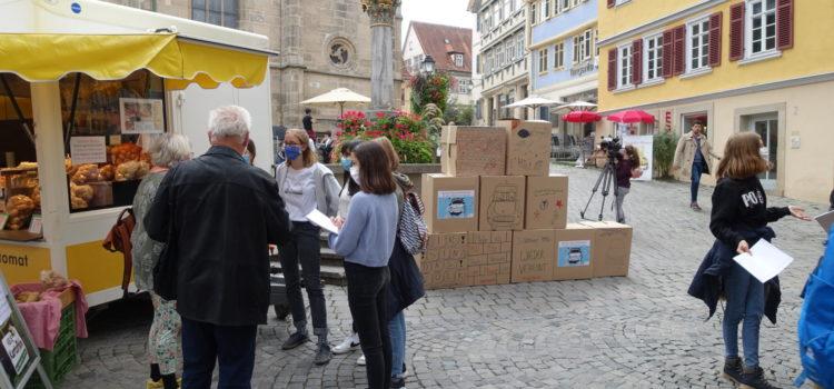 """Projekttag """"Deutsche Einheit. Deutsche Teilung"""" im Geschichtsunterricht der Klasse 9d"""