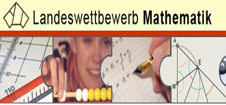 Preise beim Landeswettbewerb Mathematik